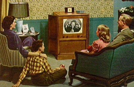 Watching TV as a family