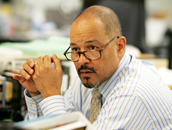 Clark Johnson as Gus in 'The Wire'