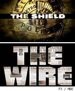 'The Shield' and 'The Wire'