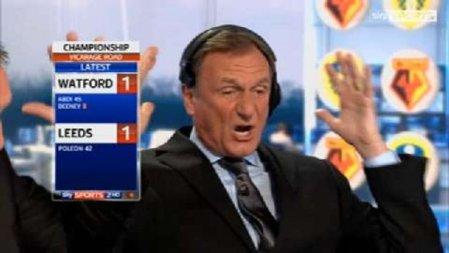Sky Sports Soccer Saturday: Watching pundits watch football.