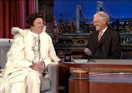 Liberace returns from grave as Letterman's last guest!