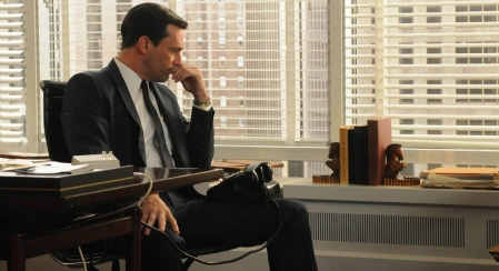 Don Draper: You don't have to be mad to vote for him...but it helps!