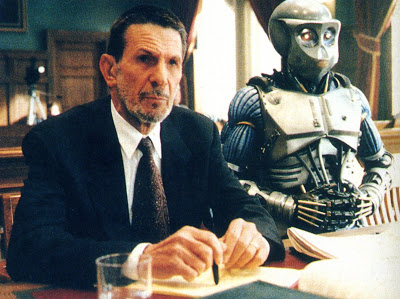 Nimoy also did pro-bono legal work for robots